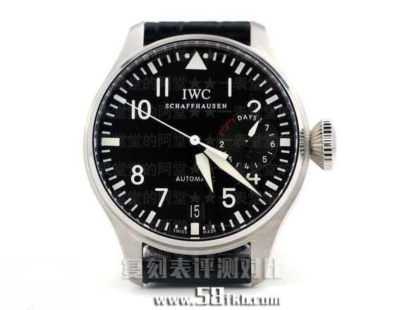 IWC500901万国大飞ZF对比正品 - 万国飞行员评测