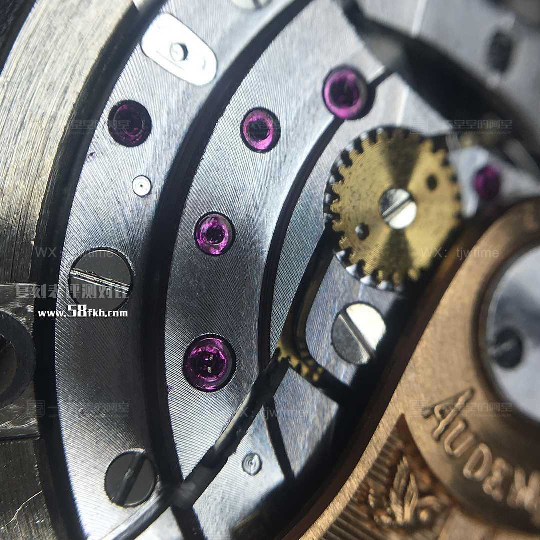 JF ap15400机芯细节
