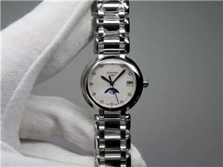 【GS】(女款)优雅心月 月相 石英 钻石刻度