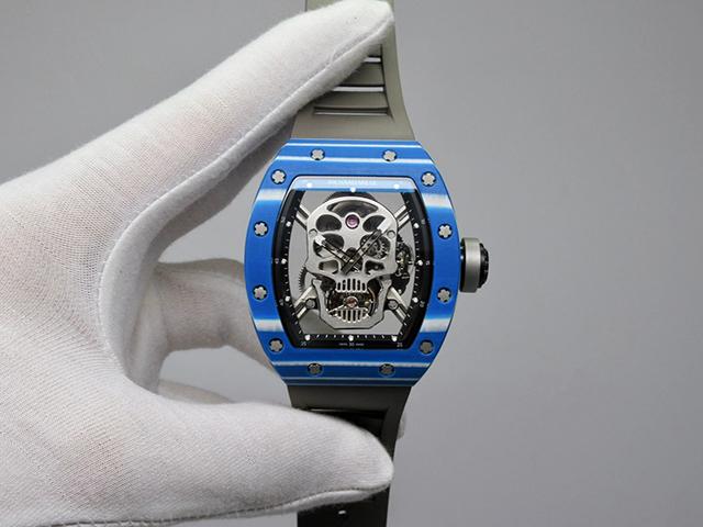 【JB】RM 52-01 蓝壳 真陀飞轮骷髅头
